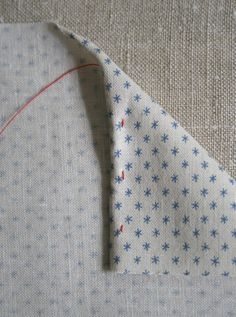 how to make rolled hem handkerchiefs....also good directions for making a rolled hem.  (i can think of some project runway contestants who could have used this tutorial)