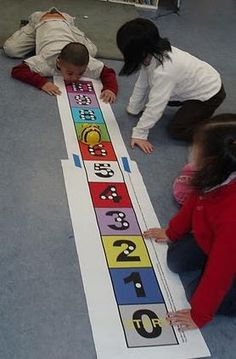 Using Bee-Bots to teach coding to Kinder students.