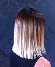 20 Long Bob Ombre Hair | http://www.short-hairstyles.co/20-long-bob-ombre-hair.html