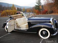 1952 Mercedes-Benz 220 Cabriolet. Via: http://www.prewarcar.com/postwarclassic/classifieds/new-auction-ads/ad60666.html