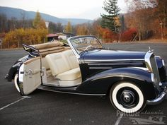 1952 Mercedes-Benz 220 Cabriolet. Via: http://www.prewarcar.com/postwarclassic/classifieds/new-auction-ads/ad60666.html