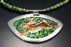 cloisonne by sandra mcewen #cloisonne #jewelry #handmade