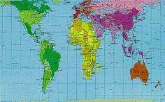 26 fakten die dein weltbild komplett zerstren werden peters projection map areas are shown in proportion to their actual size gumiabroncs Gallery