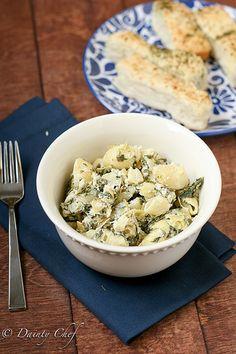 Spinach-Artichoke Pasta
