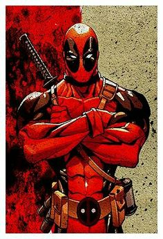 #Deadpool #Fan #Art. (Deadpool Poster) By: Brendan Hancock. (THE * 5 * STÅR * ÅWARD * OF: * AW YEAH, IT'S MAJOR ÅWESOMENESS!!!™) [THANK U 4 PINNING!!!<·><]<©>ÅÅÅ+(OB4E)    https://s-media-cache-ak0.pinimg.com/564x/d6/cc/04/d6cc04a53454f8f21908d6f899989564.jpg