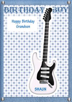 Guitar Birthday Card Template Unique Designs Part 4 Of The 12 Best Rock Chic Images On