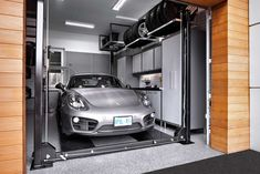 A One Car Garage That's Fit For Two