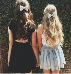 Super cute hairstyles and outfits!