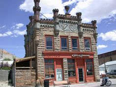 An historic building in Green River, Wy. Just coz I love looking at old buildings and want to visit the West!!