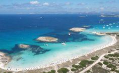 ПляжSes Illetes Испания