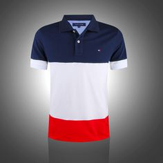 With his flair for fashion and trends, the designer Tommy Hilfiger has been mastering his career sin Tommy Hilfiger Outfit, Tommy Hilfiger Brand, Tommy Hilfiger Polo Shirts, Polo T Shirts, Preppy College Style, Tommy T Shirt, Design Kaos, Polo Shirt Design, Long Sleeve Polo