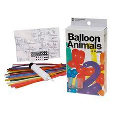 Luftballons DIY-Set Tiere