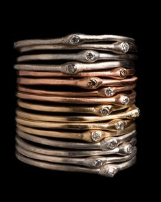 Stacking Diamond Rings