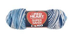 Dress Blues Super Saver Economy Yarn   Red Heart