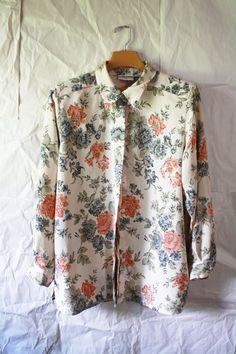 Floral vintage Tunic/ Short dress - Alfred dunner