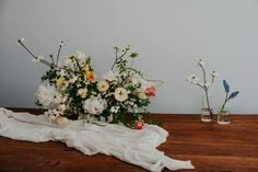 Thuya Studio is a full-service wedding florist and creative design studio available for events, editorial and environmental design in Toronto, Hamilton, Niagara and Muskoka. Environmental Design, Creative Design, Palette, Vase, Mood, Table Decorations, Studio, Spring, Wedding