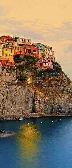 Manarola, Italy...incredibly beautiful colors!