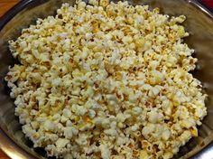 Dutch Oven Popcorn - use lower heat for better results.  Also, use an upside down strainer instead of a lid to allow steam to escape easily.