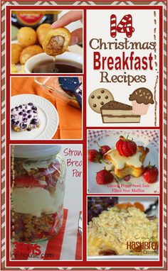 14 Christmas Breakfast Recipes - okay, who is cooking???