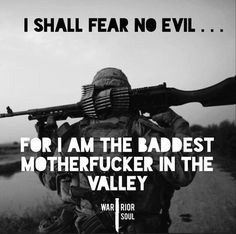 I Shall Fear No Evil - Warrior Soul Fitness