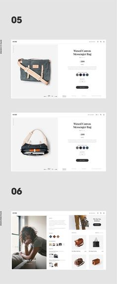 Hide - Ecommerce Bag Design Concept #simplelayout #ppt