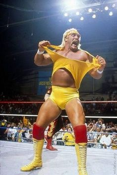 Hulk Hogan...the reason I got into wrestling, and nearly 30 years later, I still watch WWE every week, despite his current presence on TNA Impact Wrestling. What'cha gonna do, brother?