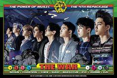 "Comic de EXO ""The Eve"" del Repacked Album ""The War: The Power of Musi… # Fanfic # amreading # books # wattpad Exo 2017, Chanyeol Baekhyun, Exo Album, The Power Of Music, Kim Minseok, Exo Korean, Korean Men, Best Kpop, Exo Do"
