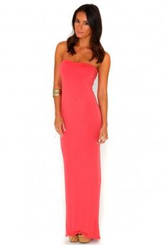 Philippa Value Bandeau Maxi Dress - dresses - missguided