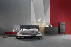 Amlet #design Gino Carollo by #Bonaldo #bed