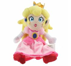 """Find More Movies & TV Information about New 1 Pcs Super Mario Bros Princess Peach Sitting Pose Plush Stuffed Animal Doll Approx 22cm/9"""",High Quality animated baby dolls,China doll shoe Suppliers, Cheap animal tube from M&J Toys Global Trading Co.,Ltd on Aliexpress.com"""