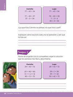 Las cuentas de Carmita - Desafíos matemáticos 1ro Bloque 5 ~ Apoyo Primaria