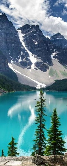 Moraine Lake ,Banff National Park Alberta, Canada #ohcanada #beautifulcanada #travel by ida
