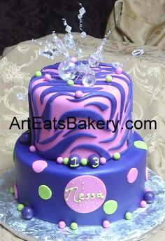 1000 Images About Cakes Zebra Print On Pinterest