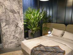 """""""Im Schlafzimmer gibt es nur Platz für das Wesentliche. Ästhetik und Ruhe stehen im Vordergrund. - Das Haus"""" #ImmCologne"""