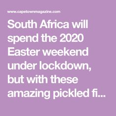 South Africa will spend the 2020 Easter weekend under lockdown, but with these amazing pickled fish recipes (and even a vegetarian option) you're in for a tasty, homely, and totally Capetonian Easter celebration. Veggie Recipes, Fish Recipes, Pickled Fish Recipe, Onion Petals, Hot Cross Buns, Types Of Fish, Easter Weekend, Easter Celebration, Vegetarian Options