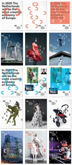 Brand design for the Dutch Creative Council