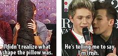 """{GIF} Ahaha some of the best quotes from the boys - YOU NEED TO PIN THIS. """"I am quite finished."""""""