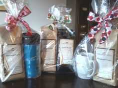 Dilworth Coffee East Holiday gift baskets!