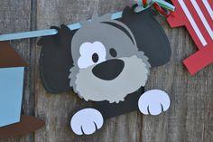 Perro partido Banner Banner fiesta cumpleaños cumpleaños de