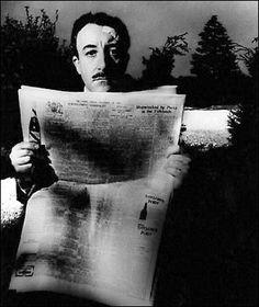 Peter Sellers, 1963.   Fuente: http://billbrandtarchive.photoshelter.com/image/I0000knHZgRGQv98