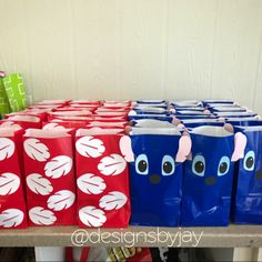 Lilo n stitch themed goodie bags