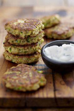Buckwheat, Zucchini & Ricotta Cakes with NoMU Cajun Rub Whole Food Recipes, Cooking Recipes, Vegetarian Recipes, Healthy Recipes, Healthy Food, Buckwheat Recipes, Good Food, Yummy Food, Tasty