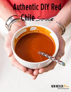 How to make red chile sauce--- New Mexican Recipes - New Mexico Tourism - Travel & Vacation Guide