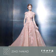 Like a fairytale #pink #dress #fashion #hautecouture #ziadnakad