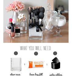 DIY Brush Storage via http://blossomeveryday.blogspot.com/2012/03/blossom-beauty-bits-diy-brush-storage.html