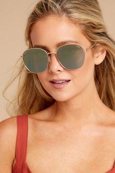 abe75c21c229 Quay Australia Gold Sunglasses - Round Sunnies - Sunglasses - $60 – Red  Dress Boutique Sunnies