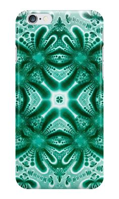"""Turquoise etude"" iPhone Cases & Skins by floraaplus 