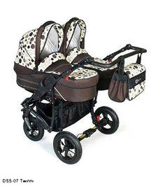 Otroški voziček za dvojčke Dorjan Twinni