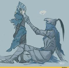 DS art, Dark Souls, fandom, Artorias The Abysswalker, DS characters, Lord's Blade Ciaran