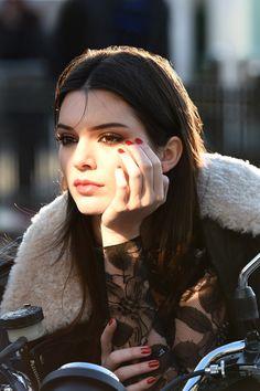 Kendall Jenner Estee Lauder Campaign Face (Vogue.com UK)